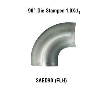 90° Die Stamped 1.0Xd