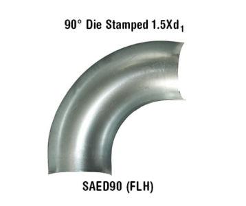 90° Die Stamped 1.5Xd